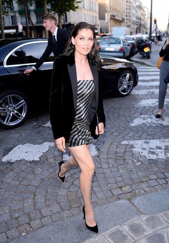 Laetitia Casta – Vogue Party at Paris Fashion Week 07/04/2017
