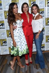"Lana Parrilla, Gabrielle Anwar and Dania Ramirez - ""Once Upon a Time"" TV Show Photocall in San Diego 07/22/2017"