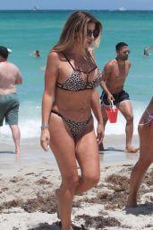 Larsa Pippen in Bikini- Beach Day in Miami 07/01/2017