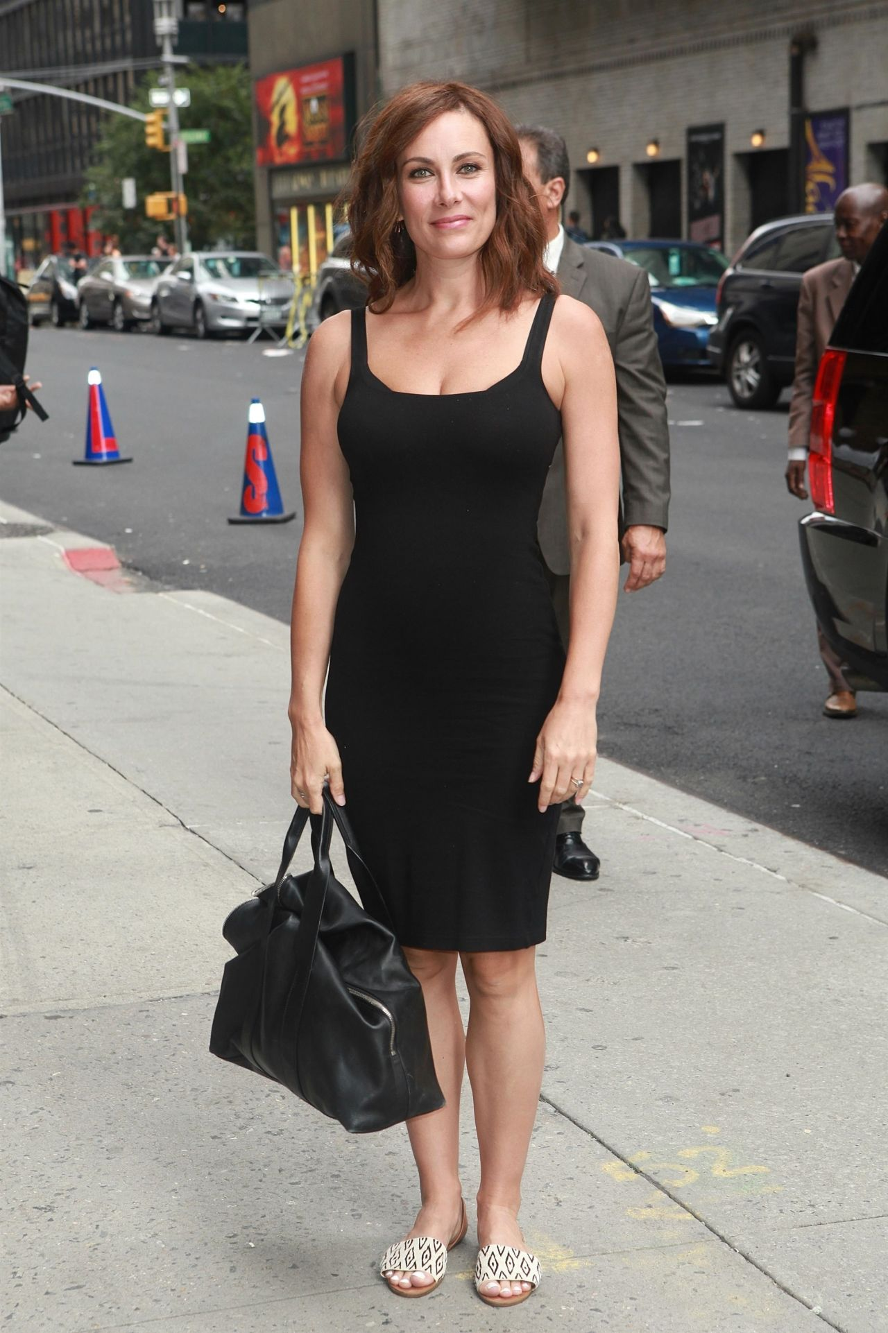 Laura Benanti Arrive To Appear On The Late Show With