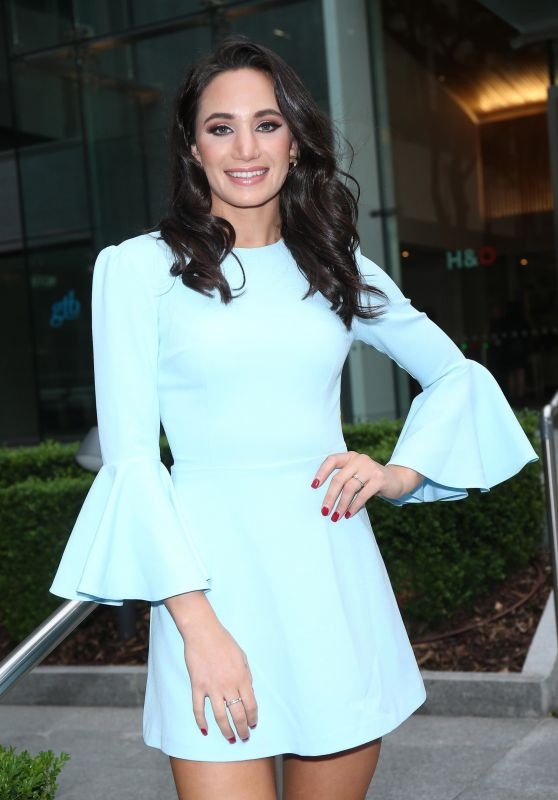 Laura Wright - Emporio Armani YOU Fragrance Launch in London 07/20/2017