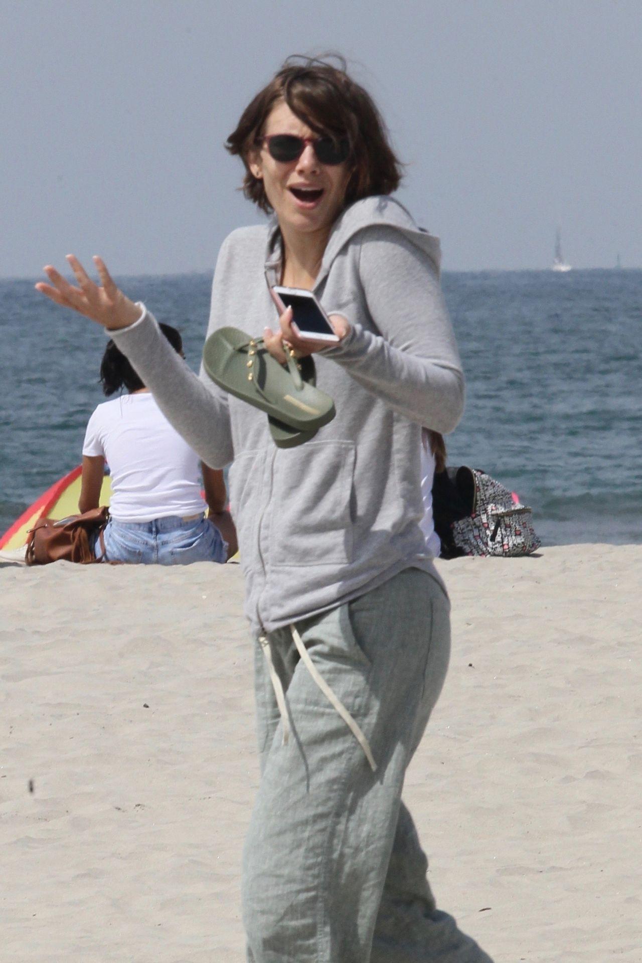 Lauren Cohan And Alanna Masterson At Coronado Beach In San
