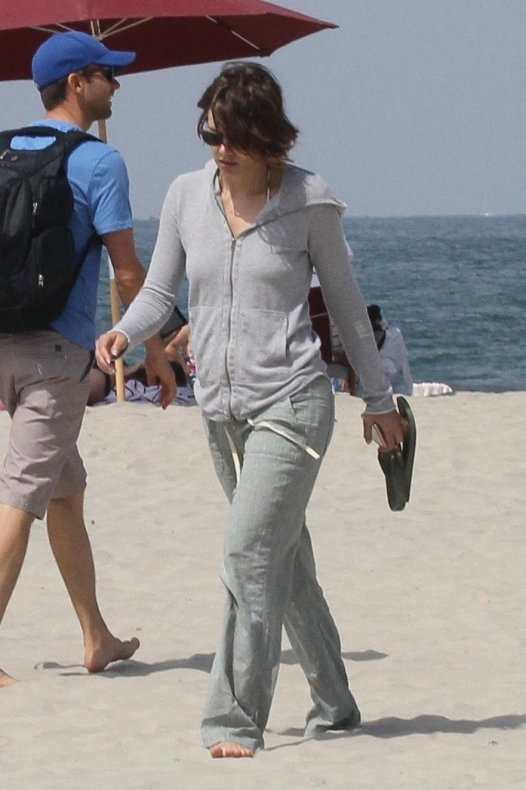 Correspondents Dinner >> Lauren Cohan and Alanna Masterson at Coronado Beach in San Diego 07/21/2017