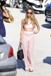 Lauren Pope - On the Beaches of Ibiza, Spain 07/29/2017