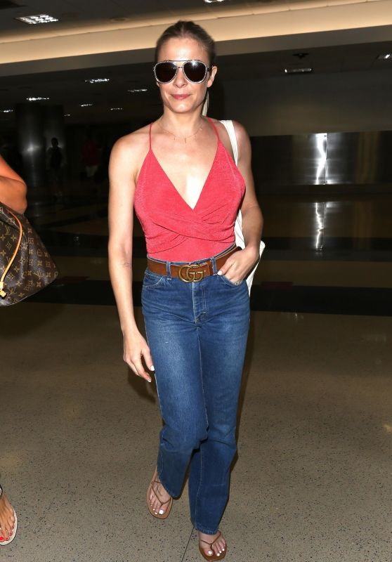 LeAnn Rimes - LAX Airport in Los Angeles 07/02/2017