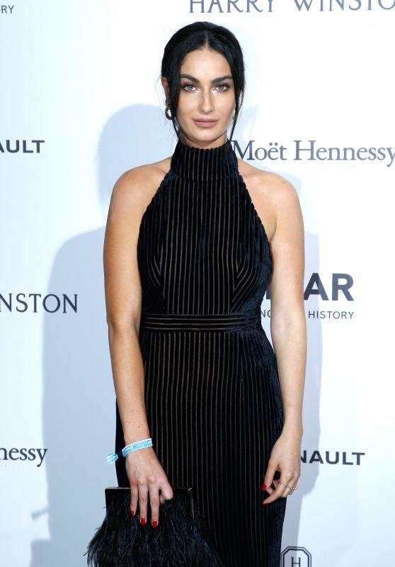 Leila Yavari at amfAR Gala – Haute Couture Fashion Week in Paris 07/02/2017