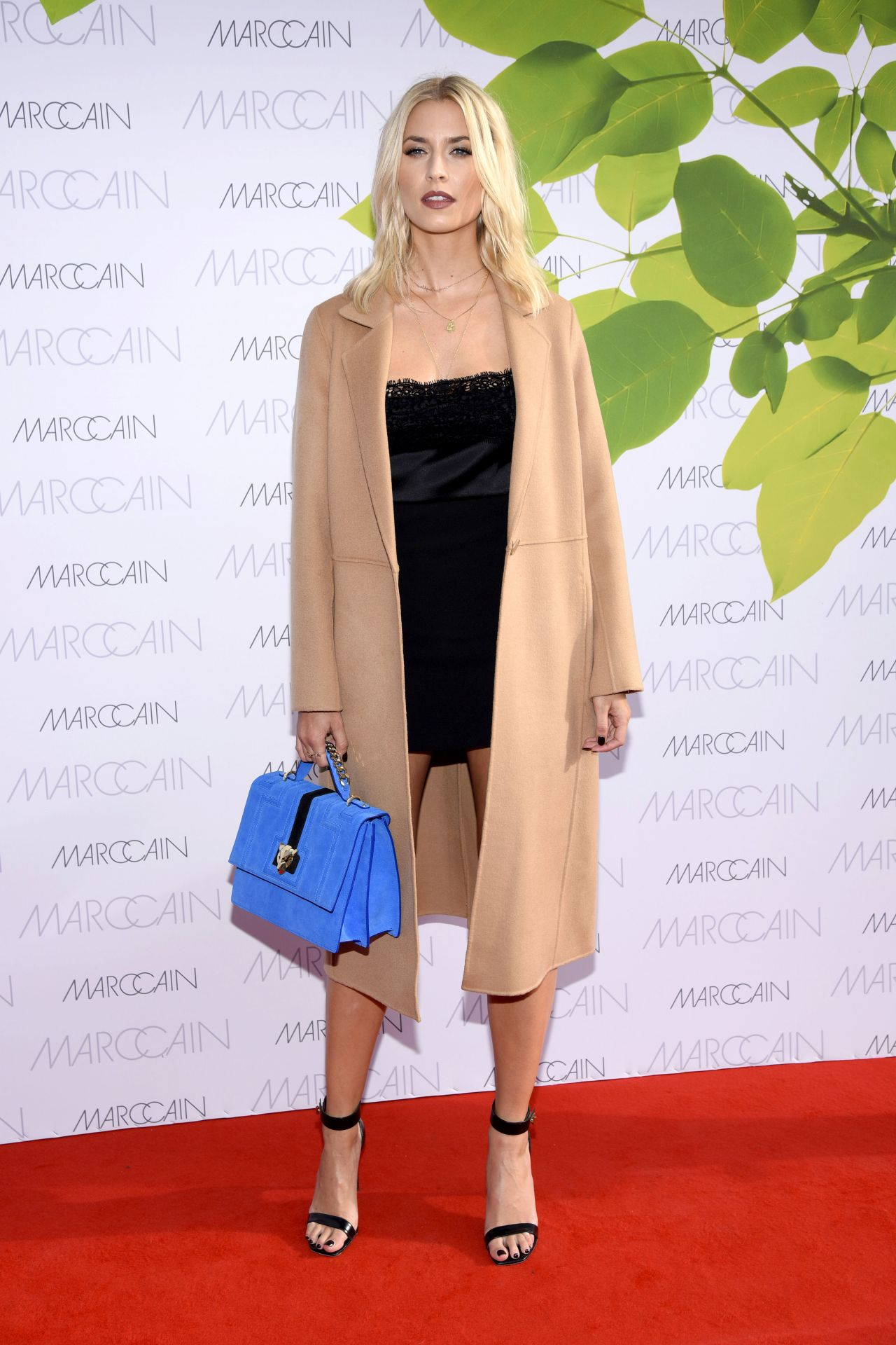 Lena Gercke At Riani Show Mercedes Benz Fashion Week