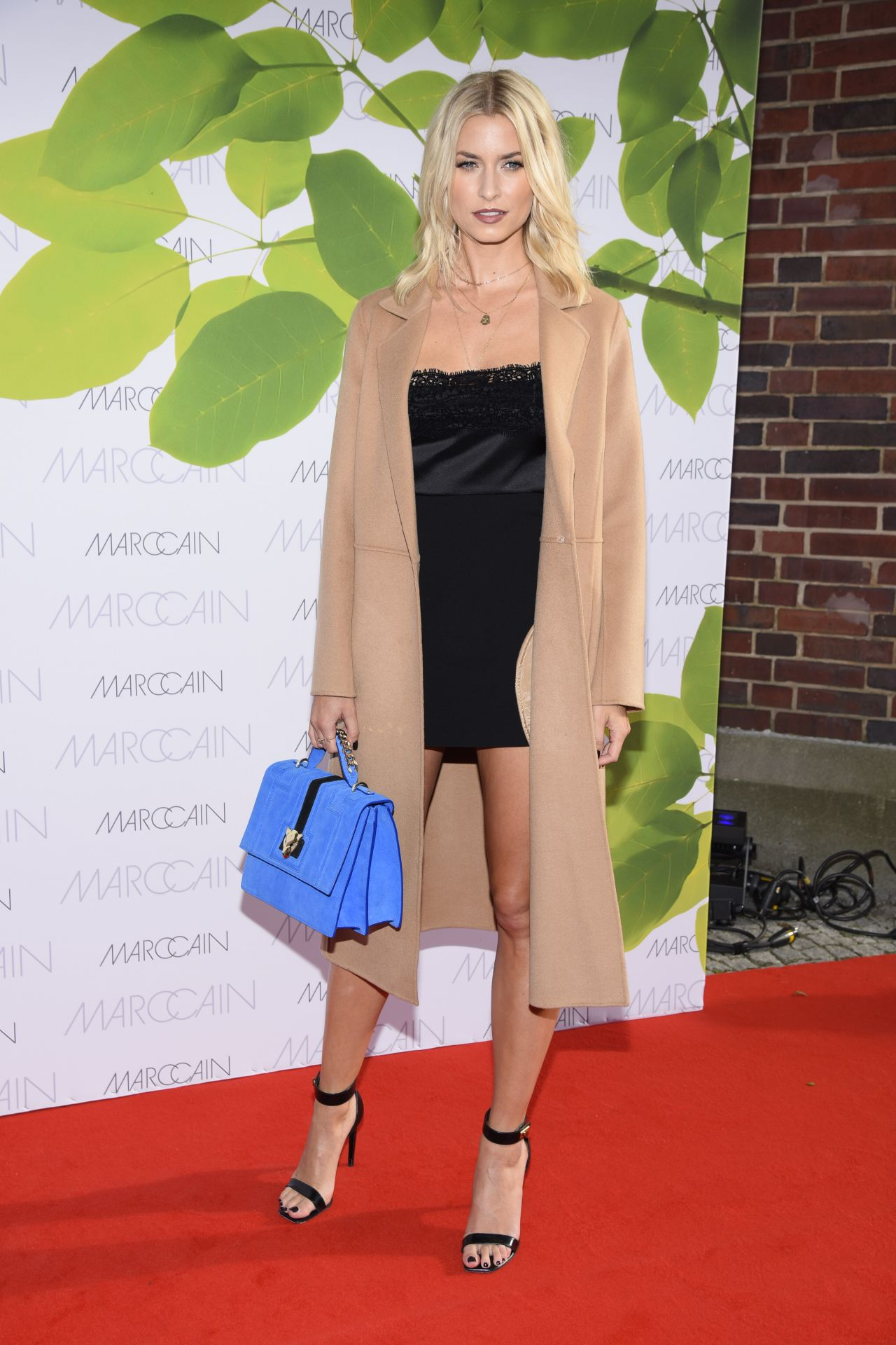 Lena Gercke at Riani Show - Mercedes Benz Fashion Week