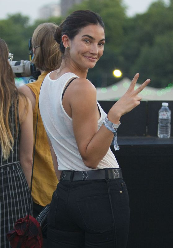 Lily Aldridge - Kings of Leon Concert at Hyde Park in London 07/06/2017