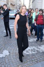 Lily Donaldson – Vogue Party at Paris Fashion Week 07/04/2017