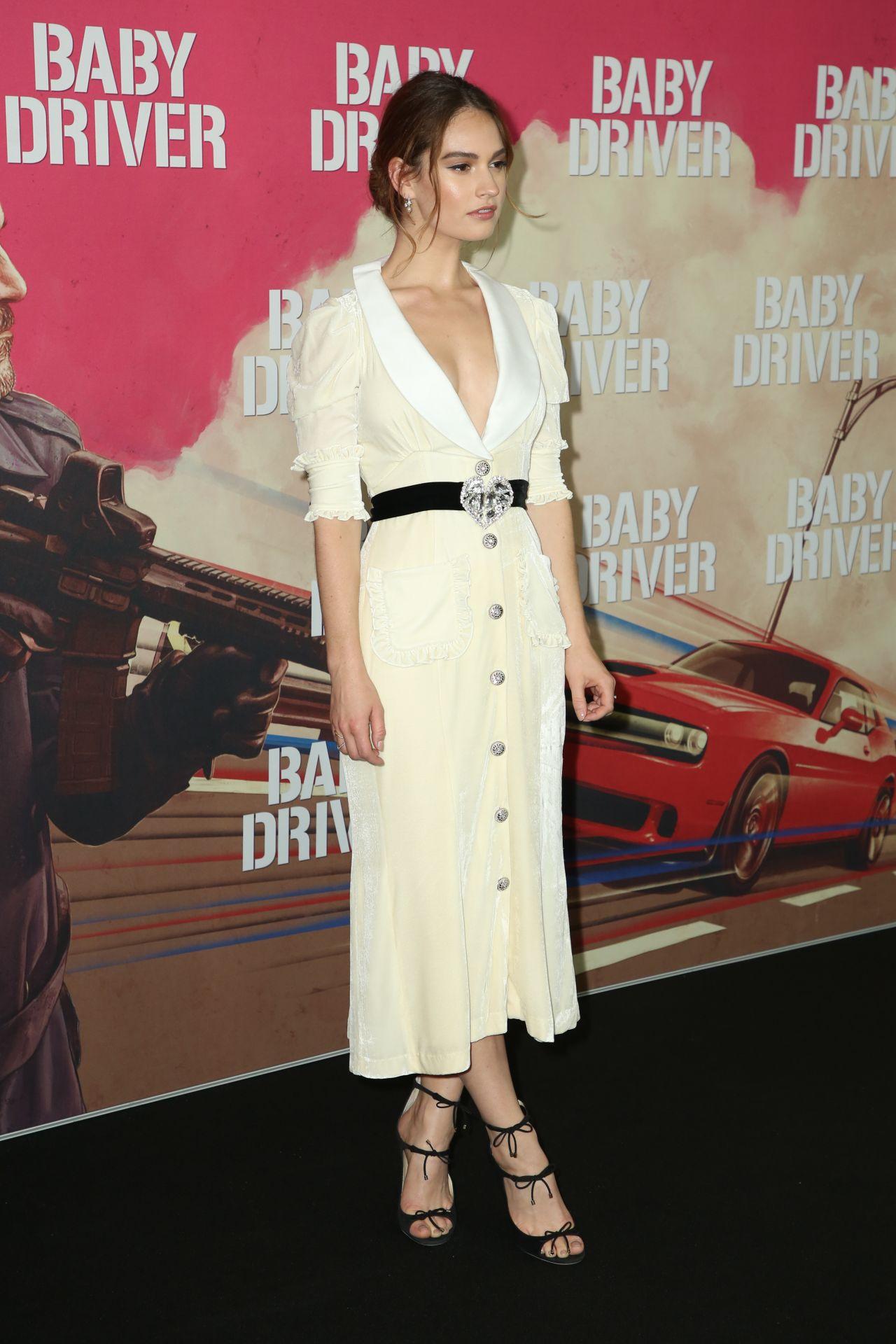Lily James Quot Baby Driver Quot Australian Premiere In Sydney