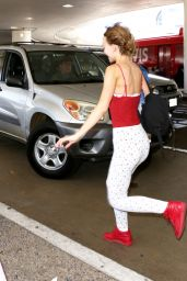 Lily-Rose Depp at LAX Airport in Los Angeles 07/20/2017