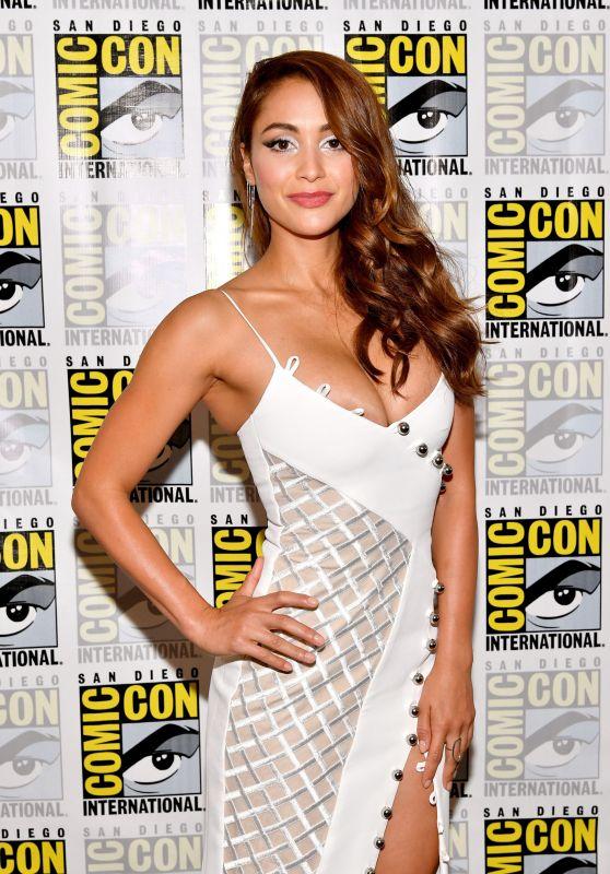 Lindsey Morgan - Comic-Con International in San Diego 07/21/2017
