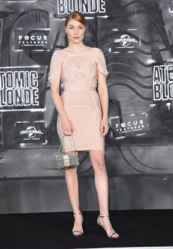 "Lisa Hahnbück – ""Atomic Blonde"" Premiere in Berlin 07/17/2017"