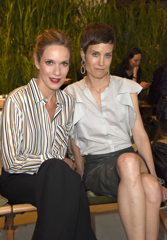 Lisa Martinek & Saskia Diez – Dorothee Schumacher Show – Mercedes Benz Fashion Week in Berlin 07/06/2017
