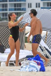 Lola Ponce Hits the Beach in Miami 07/24/2017