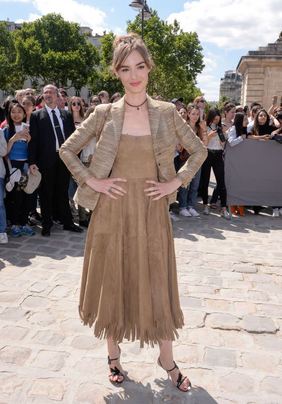 Louise Bourgoin at Christian Dior Show – Fall Winter 2017 in Paris 07/03/2017