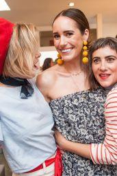 Louise Roe – Striiike, Caudalie and Christophe Robin Celebrate Bastille Day in LA 07/14/2017