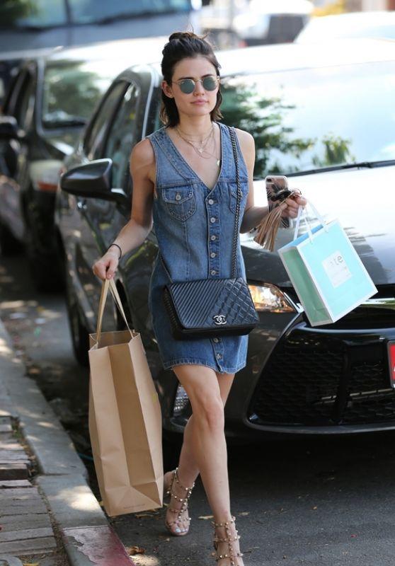 Lucy Hale - Leaving Rachel Comey