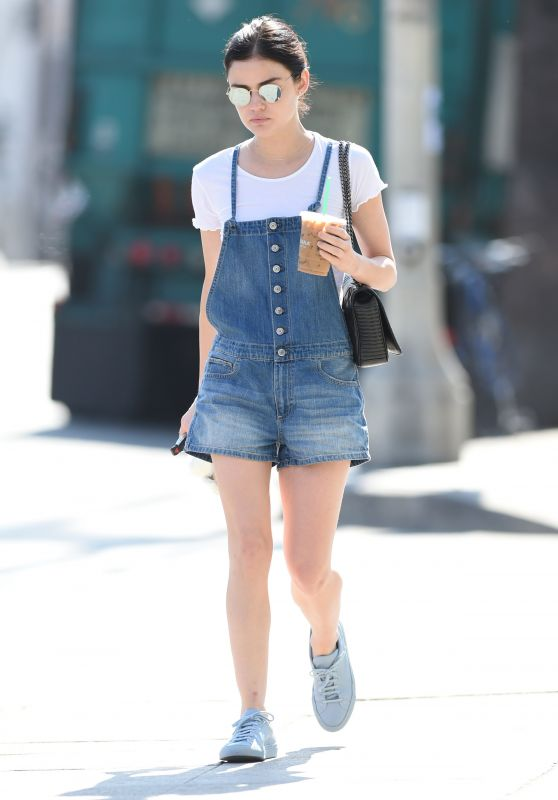 Lucy Hale Street Style - Los Angeles, CA 07/06/2017