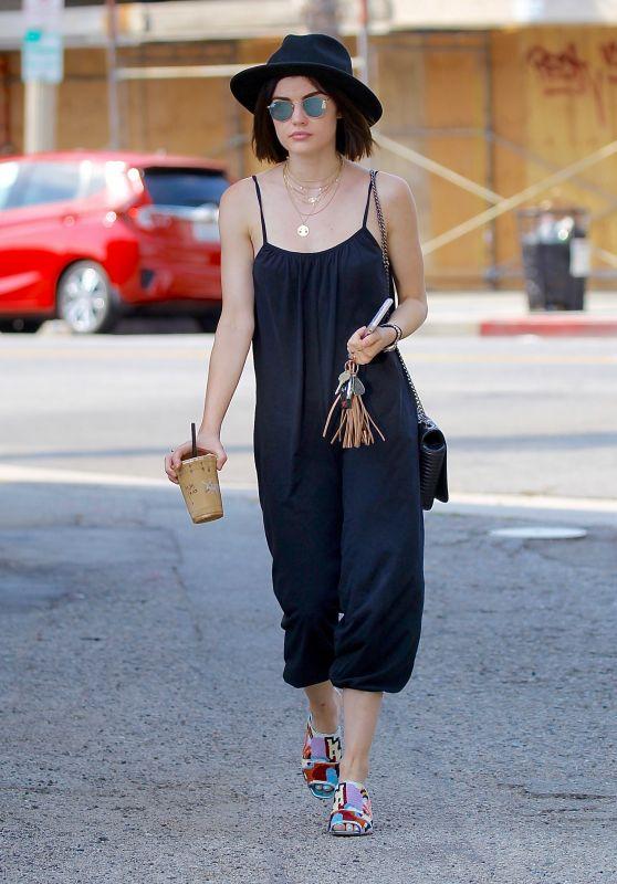 Lucy Hale Summer Style - Studio City, CA 07/20/2017