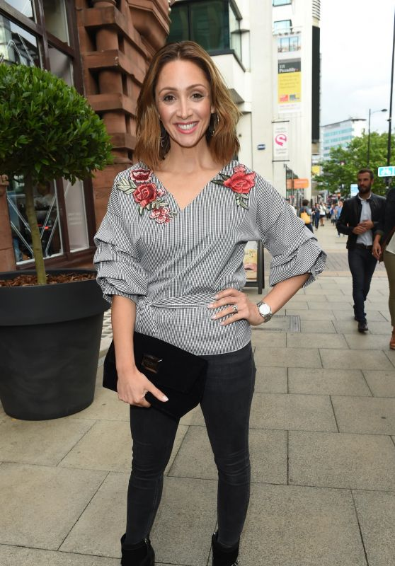 Lucy Jo Hudson – Brasserie Abode Launch in Manchester, UK 07/13/2017