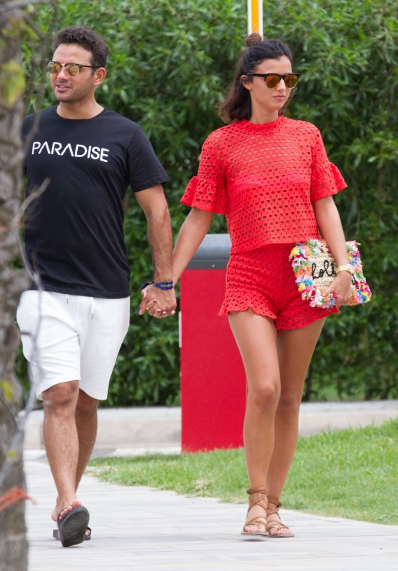 Lucy Mecklenburgh and Ryan Thomas on a Romantic Getaway, Ibiza 07/24/2017