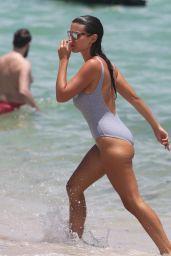 Ludivine Kadri Sagna in a Swimsuit - Enjoys a Miami Vacation 07/16/2017