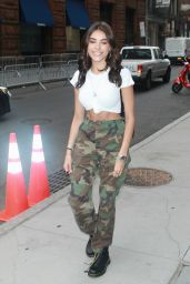 Madison Beer - Spotted Outside AOL Studios in NYC 07/27/2017