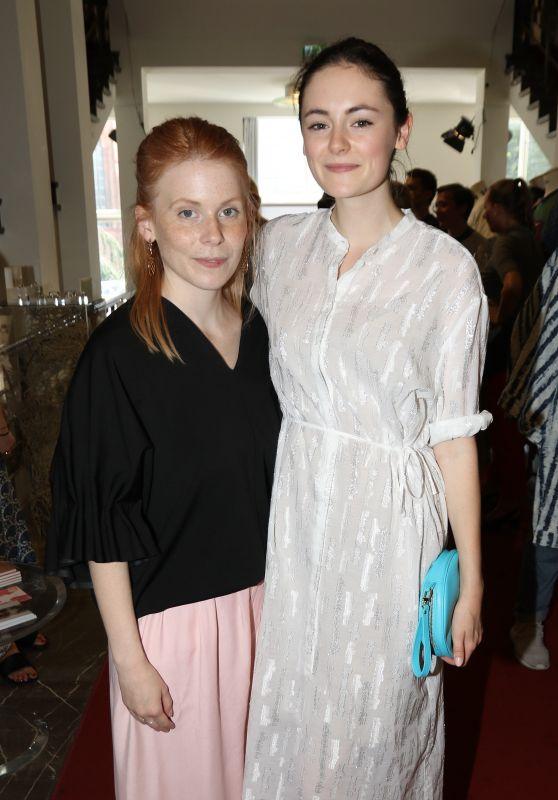 Malaika Raiss & Lea van Acken at Vogue Salon - Berlin Fashion Week 07/07/2017