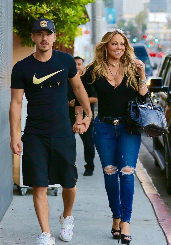Mariah Carey and Bryan Tanaka in Beverly Hills 07/20/2017
