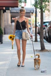 Martha Hunt in the East Village 07/16/2017
