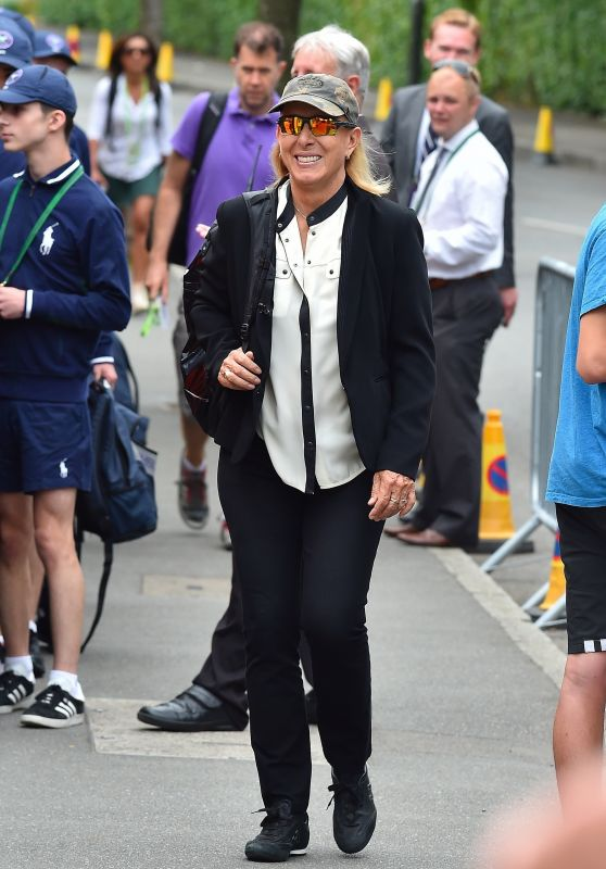 Martina Navratilova - Wimbledon Tennis Championships in London 07/03/2017
