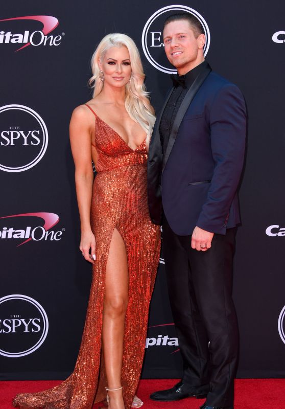 Maryse Ouellet Mizanin – ESPY Awards in Los Angeles 07/12/2017