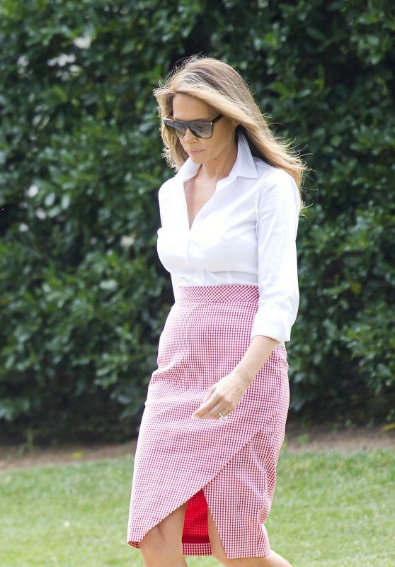 Melania Trump - Departs the White House in Washington D.C. 06/30/2017