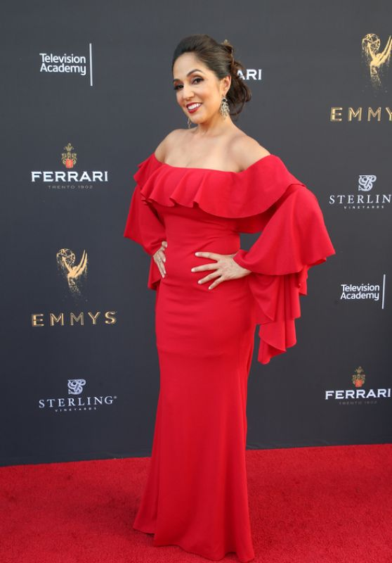 Michelle Valles – Los Angeles Area Emmy Awards, The Television Academy 07/22/2017
