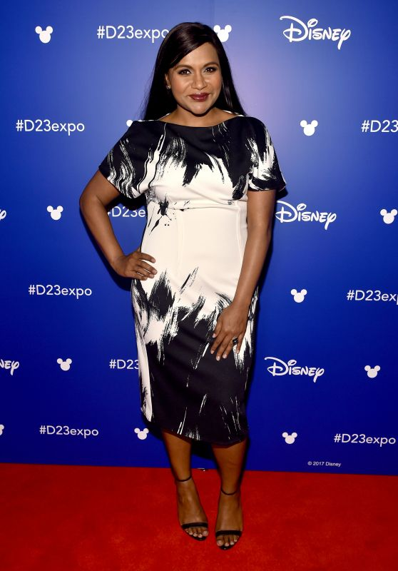 Mindy Kaling – Disney's D23 EXPO 2017 in Anaheim 07/15/2017