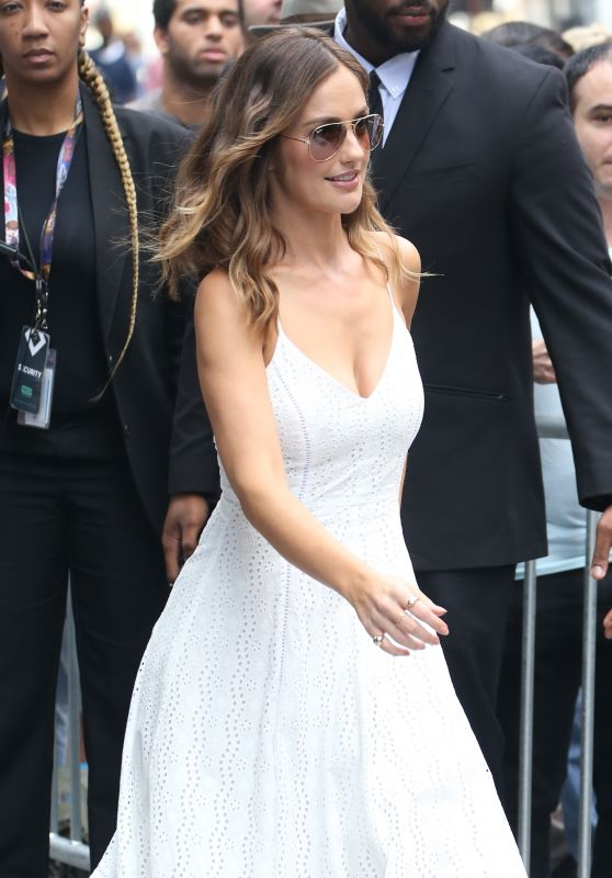 Minka Kelly - Arriving to Appear on AOL BUILD in NYC 07/25/2017