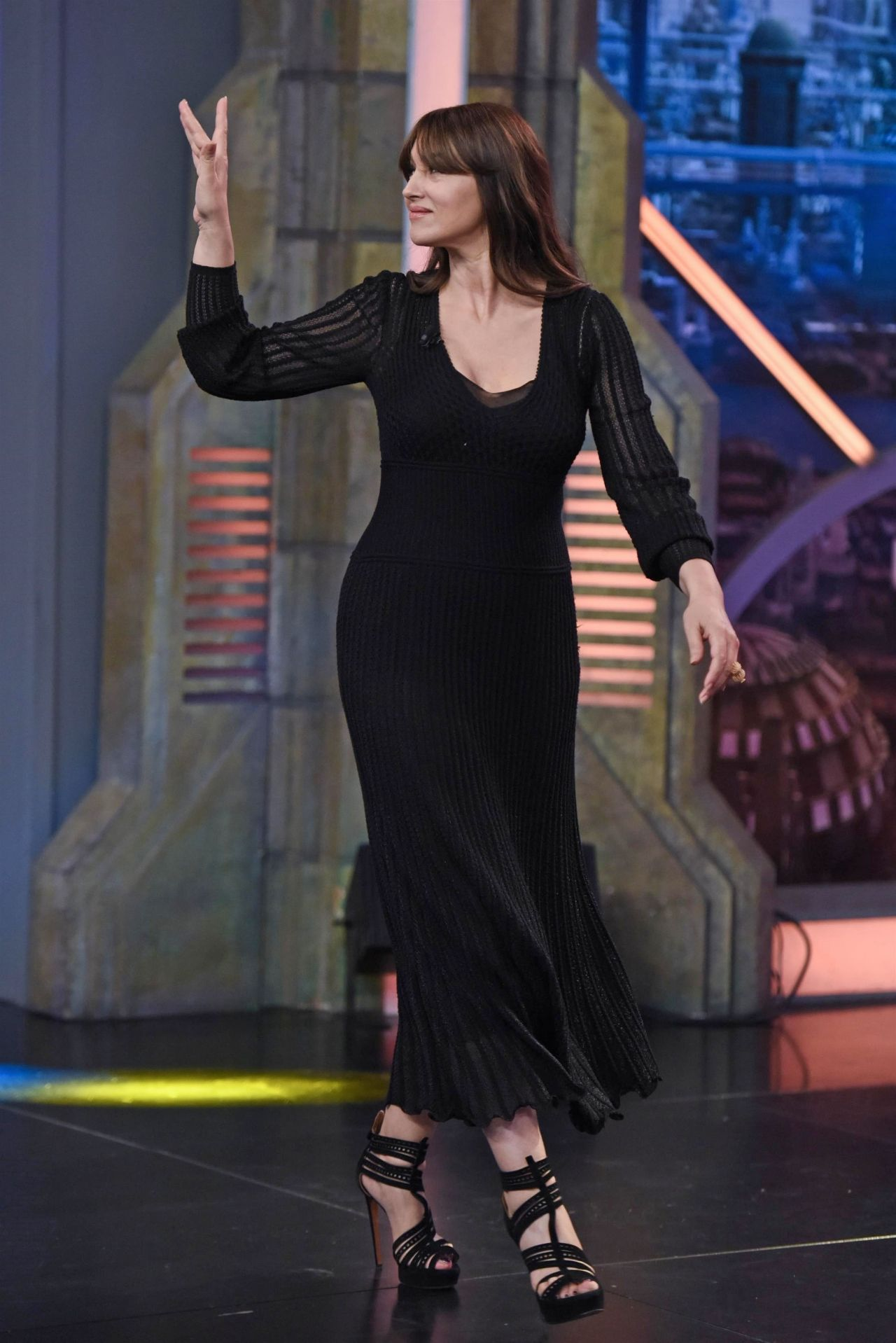 Monica Bellucci Appeared on El Hormiguero TV Show in ... Monica Bellucci