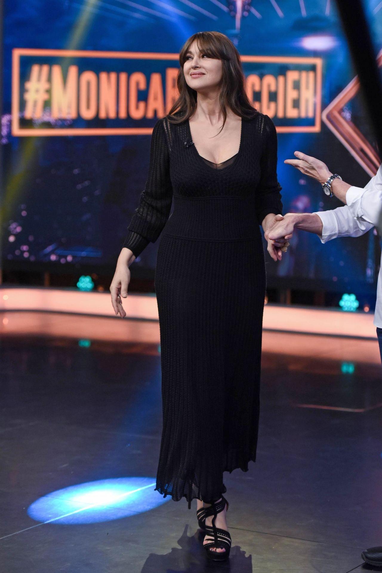 Monica Bellucci Appeared On El Hormiguero Tv Show In
