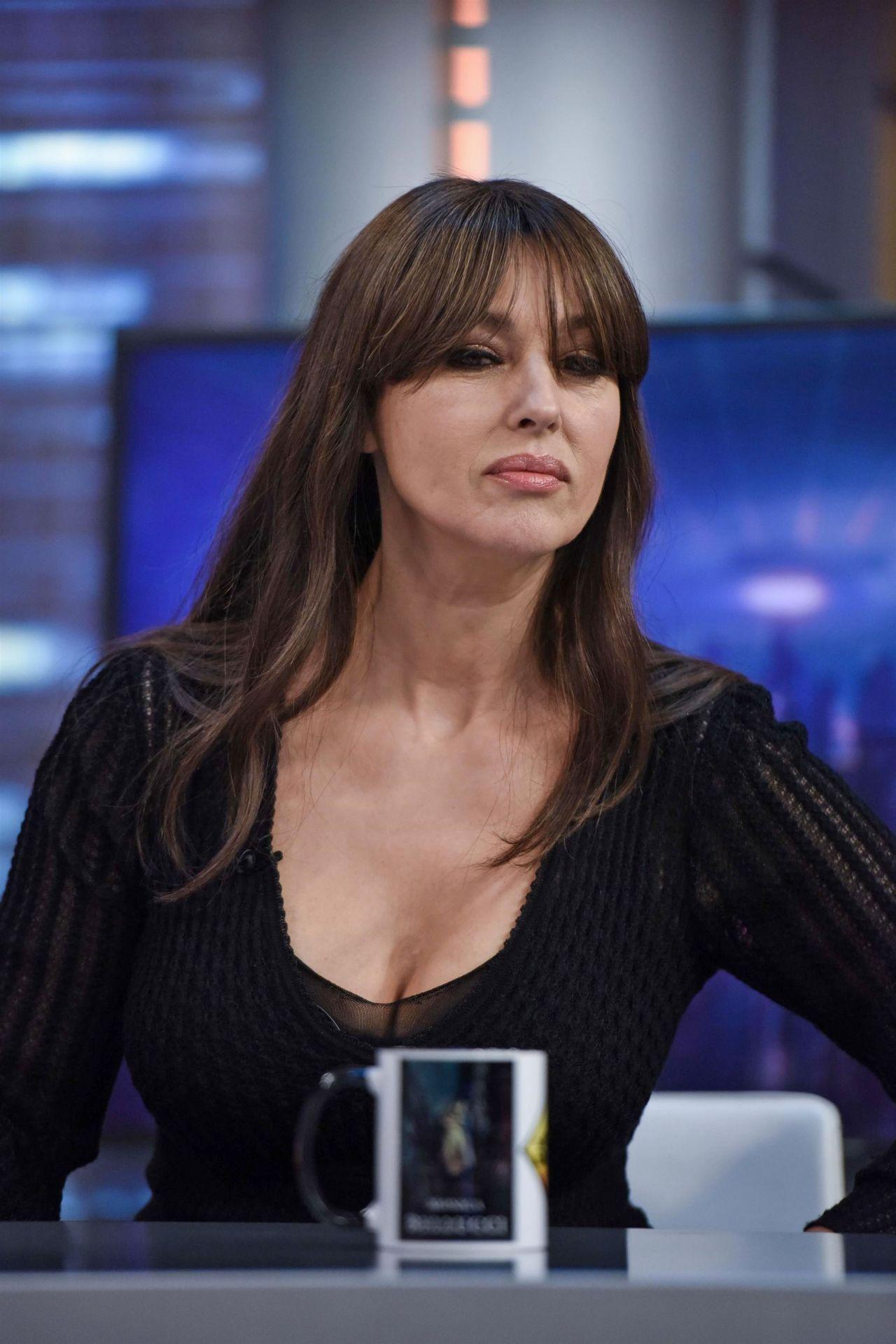 Monica Bellucci Appeared on El Hormiguero TV Show in ... Stefanie Scott