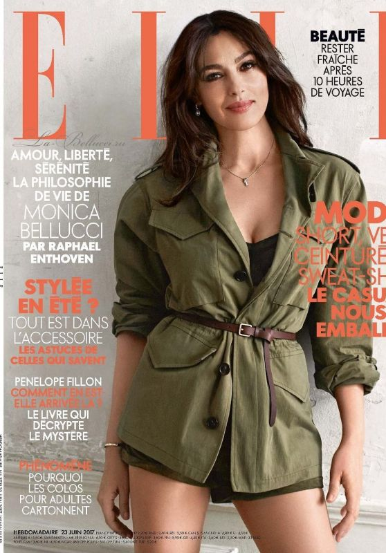 Monica Bellucci - Elle Magazine France June 2017