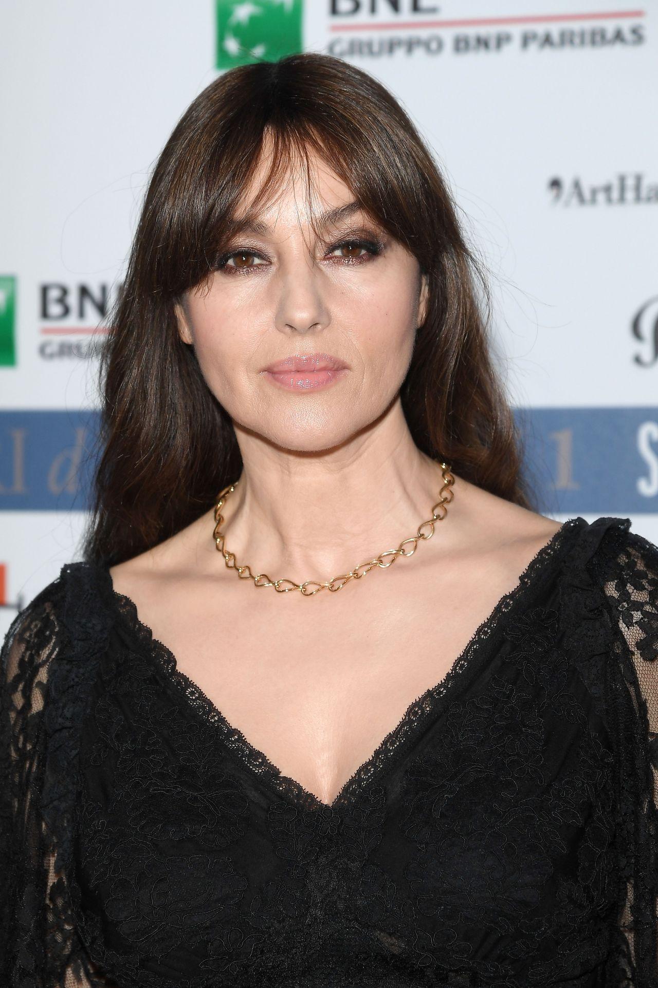 Monica Bellucci - Nastri D'Argento 2017 in Taormina, Italy ... Monica Bellucci