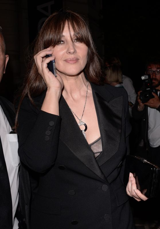 Monica Bellucci  – Vogue Party in Paris, France 07/04/2017