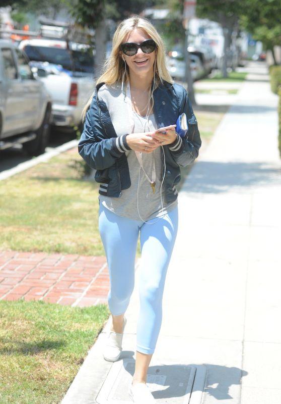 Morgan Stewart Street Style - Beverly Hills 06/30/2017