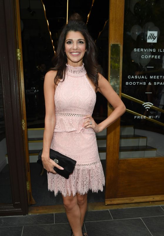 Natalie Anderson – Brasserie Abode Launch in Manchester, UK 07/13/2017