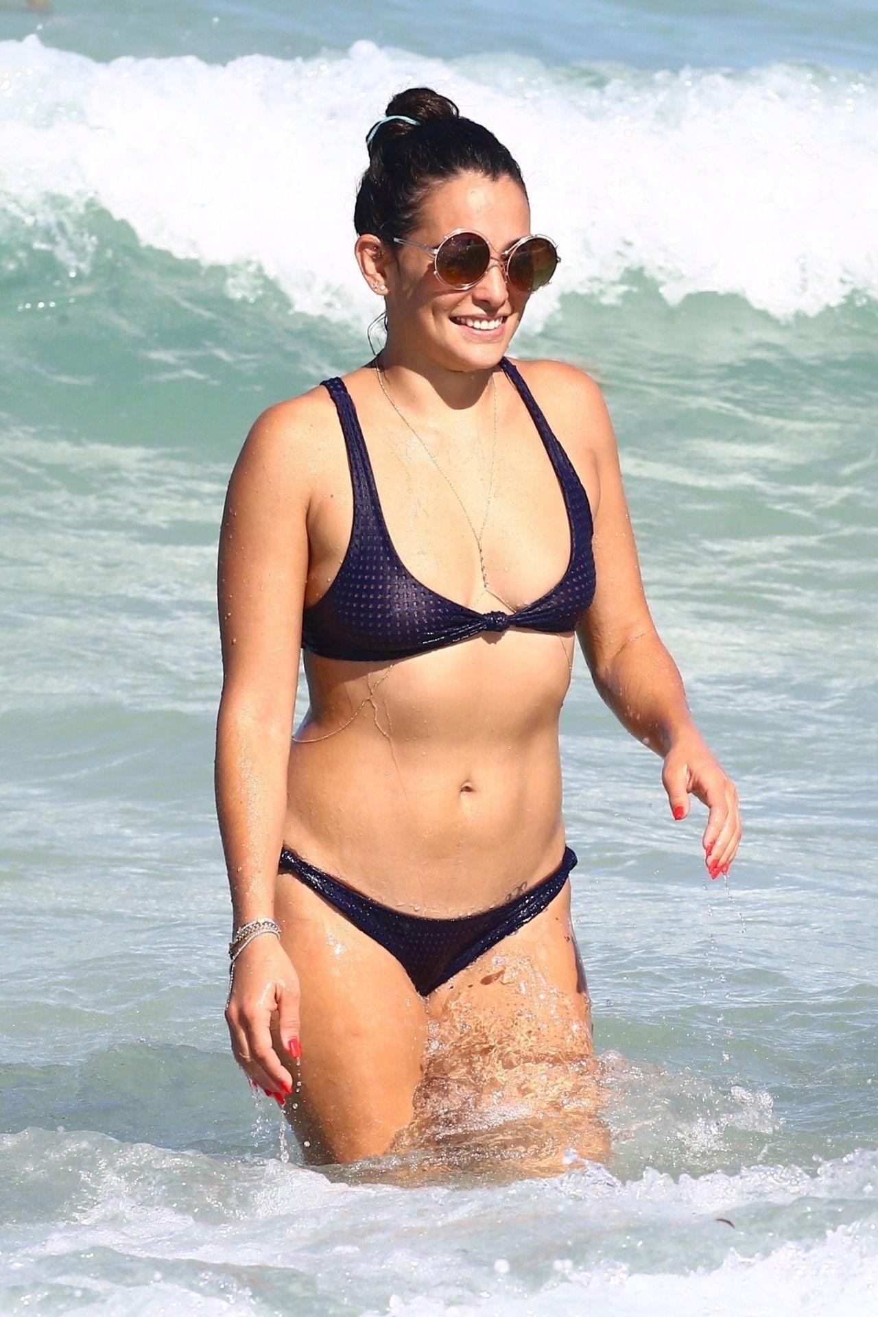 Natalie Martinez in a Bikini - Miami Beach 07/14/2017
