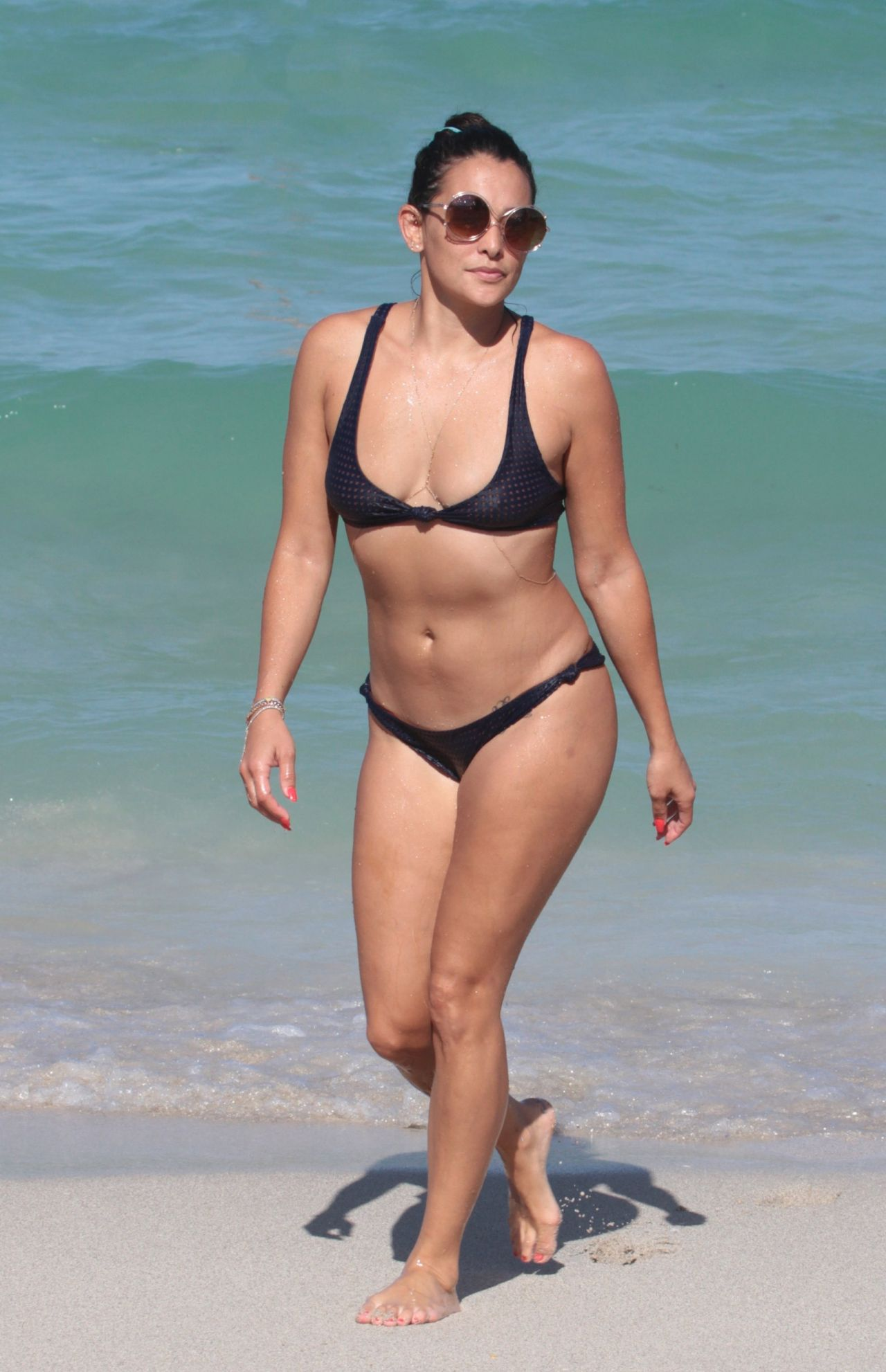 Natalie martinez in bikini miami beach florida new images