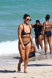 Natalie Martinez in a Bikini - Miami Beach 07/14/2017