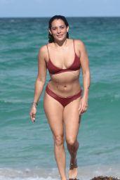 Natalie Martinez in Bikini - Miami Beach, Florida 07/08/2017